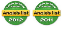 angie's list super service award, roofing contractors, roof repair